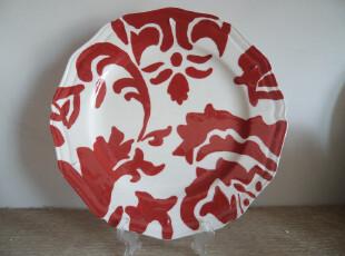 外贸陶瓷 欧美原单 HOME品牌 中国风中国红系列 餐具 多款可选,盘碟,
