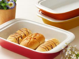 景德镇外贸余单陶瓷 烤箱微波炉烘焙模具 环保色釉超大餐盘 烤盘,盘碟,