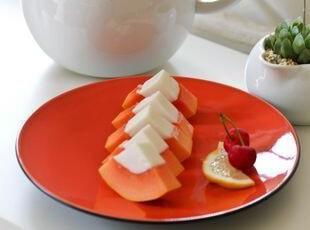 Luzerne橘色餐盘/甜品盘/西餐盘 出口 西餐餐具,盘碟,