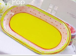 异域。华美外贸陶瓷寿司盘 烘焙用品甜点面包零食冷菜盘子 小清新,盘碟,