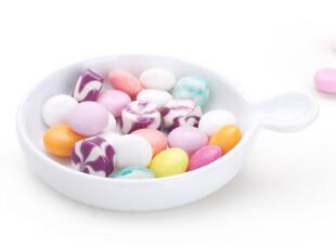 餐具纯白色酱料碟日用陶瓷碟子圆形味碟0.21 0.18,盘碟,