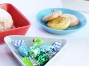 芬兰Iittala Teema 2011最新 土耳其兰+橙红+灰色迷你碟三件套,盘碟,