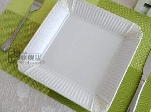 千度陶品*高档餐盘*炻瓷浮雕*出口餐具*外贸陶瓷*美国Lenox尾单,盘碟,