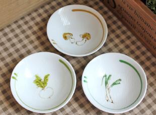 千度悠品 zakka 日式杂货 陶瓷餐具 插图 小碟 碟子 味碟 调味碟,盘碟,