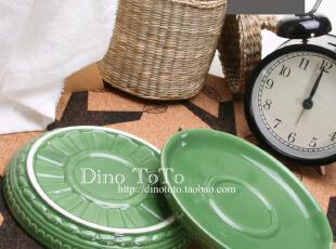 特价促销冲冠 外单浮雕陶瓷工艺术品瓜子小糖果杂物装饰碟子实拍,盘碟,