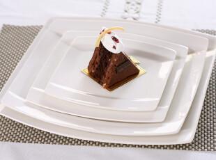外贸陶瓷餐具 出口餐具套装Luzerne 新骨瓷方盘 菜盘 牛扒盘 套装,盘碟,