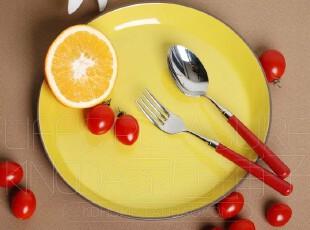 出口外贸陶瓷餐具 欧式 蛋糕盘 深烤盘 大圆盘 披萨盘 烘焙餐具,盘碟,