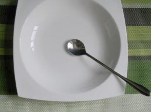 纯白骨瓷天元系列 异形西餐汤盘 菜盘 深盘 西餐餐具 酒店餐具,盘碟,