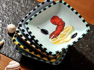JP3564 美国ZRIKE旗下Seiring Sersations手绘小餐盘 小菜碟,盘碟,