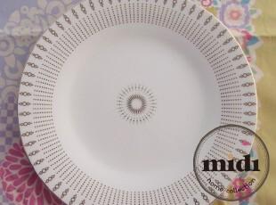 陶瓷餐具 英国品牌 12寸骨瓷 平盘 西餐盘,盘碟,