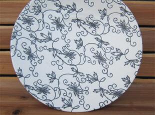 外贸陶瓷 瓷器餐具欧美名品镂花西餐盘/装饰盘/果盘摆盘花盘盘子,盘碟,