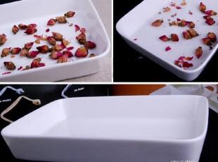 外贸陶瓷餐具 出口瓷器 保鲜盒 饭盒小烤盘 长方碟 烘焙骨瓷盘,盘碟,