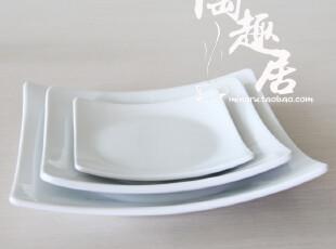 【酒店陶瓷】 KOYO四方翘角牛排盘/西餐盘 原单外贸陶瓷GN-41,盘碟,