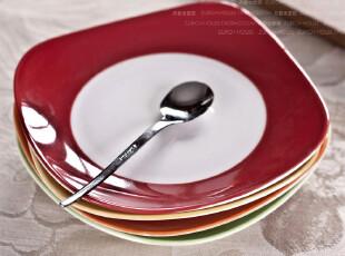 外贸出口欧式陶瓷  夜宴  餐盘 平盘 点心盘 装饰碟 摆盘 果盘,盘碟,