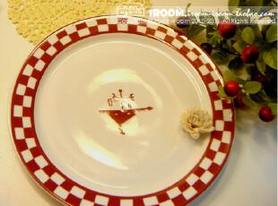 美丽说推荐 zakka盘子.外贸陶瓷盘/西餐盘/蛋糕盘,盘碟,