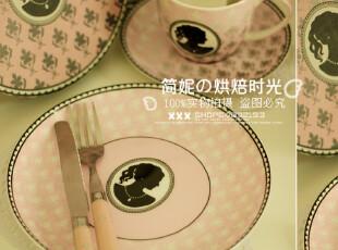 特价38元/个 韩国 粉红女孩 骨瓷盘 粉色餐盘 盘子 淘宝独家,盘碟,