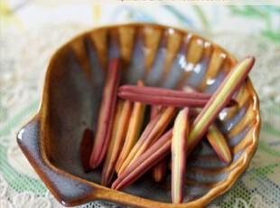 很可爱的Luzerne蓝色贝壳造型小调料碟 出口 西餐餐具,盘碟,