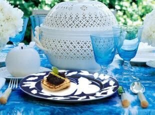 Rosendahl 蝴蝶 牛排盘 西餐盘甜品盘 餐盘 高档餐桌用品 31cm,盘碟,