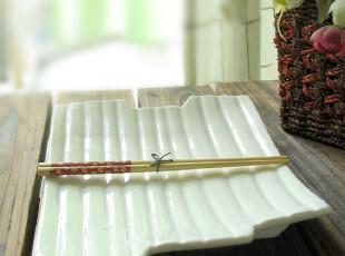 比利时原单/白色特别西餐盘/个性设计/外贸出口余单陶瓷餐具瓷器,盘碟,