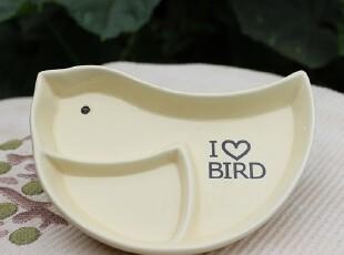 【A grass磕碰】外贸陶瓷我是一只小小鸟零食碟\零食盘!,盘碟,