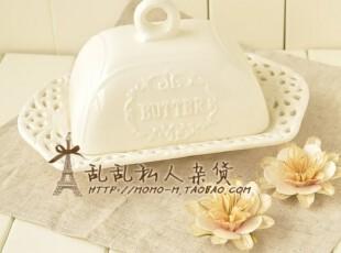出口zakka杂货 白瓷镂空花饼干盘子 碟子 点心盘 食品拍摄道具,盘碟,