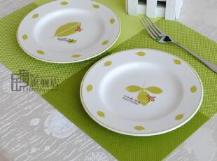 微疵|7.5英寸盘子|西餐盘|装饰盘|外贸陶瓷|出口餐具|外单尾货,盘碟,