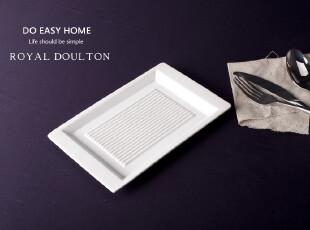 长方菜盘 西餐盘 日本料理 餐具 外贸 原单 骨瓷 英国RD 创意盘子,盘碟,