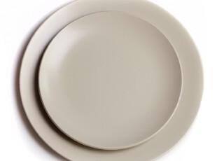 绘生活 宜家风格陶瓷盘子餐具 西餐盘子 沙拉盘 纯色之恋1145X,盘碟,