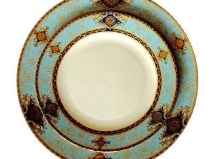 欧式餐具 样板房/家居饰品 骨瓷 盘子 西餐盘 二件套 阿拉伯舞曲,盘碟,