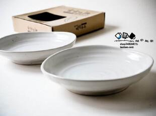出口韩国半哑光日式 和风陶瓷个性盘子甜品碟 餐具菜盘果盘350g,盘碟,