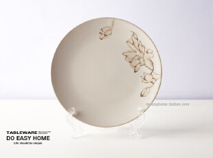 """手绘盘子 外贸陶瓷餐具 """"狂野之美""""创意盘子 餐具 原单 菜盘子,盘碟,"""