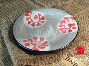 【忆千年】碟子 碗碟 景德镇陶瓷青花瓷 日式和风 手工手绘  18,盘碟,