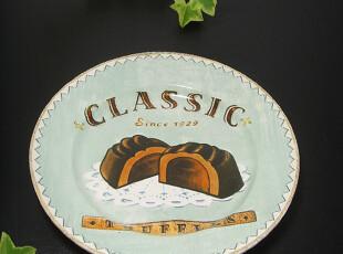 点心盘 / 高温陶瓷盘子 / 家居摆设盘 /面包盘/蛋糕盘,盘碟,