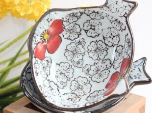 日式zakaa外贸陶瓷器餐具小碟子盘子日韩日本和风鱼碟酱油碟原单,盘碟,