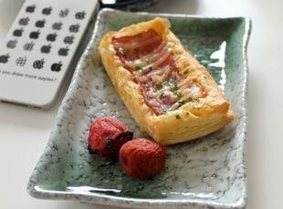 猪猪推荐超美系列:冰裂釉长方形凉菜盘/寿司盘,盘碟,