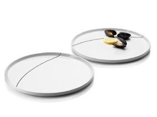 丹麦menu 新品 晚餐陶瓷对盘/餐盘 4509259,盘碟,