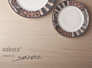西餐盘 西餐餐盘 牛排盘 餐具 陶瓷 外贸原单 创意盘子 美国名品,盘碟,