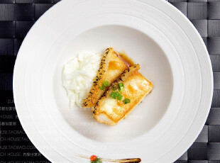 外贸精品家居陶瓷 西餐牛排餐具套装 曼哈顿 盘子三件套 7折特惠,盘碟,