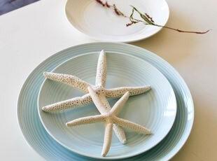 RD皇家道尔顿2010新款新骨瓷盘(蓝色)出口 西餐餐具,盘碟,