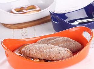 陶瓷名品 西餐餐具 微波炉 烤箱专用特制 汤盆 汤盘子 烤盘 多色,盘碟,