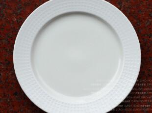 外贸出口盘子陶瓷餐具 新加坡 布达佩斯 餐盘 平盘 大西餐盘 7折,盘碟,