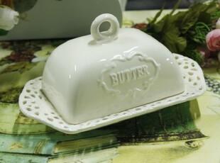 外贸存货——居家/日用/欧式/纯白/田园风格陶瓷蛋糕盘,盘碟,