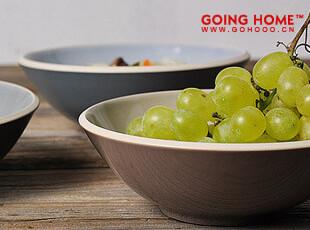 淡雅 中式 陶瓷 圆碗 饭碗 小汤碗 (晨雾),碗盆,