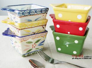 美国temp-tations餐具大牌 陶瓷烘培碗 烤碗 出口原单 可当沙拉碗,碗盆,
