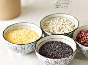 京瓷青花餐具 陶瓷碗/碗/大米饭碗 古色和风 (大小两款),碗盆,