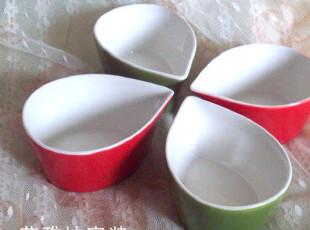 景商 水滴形骨瓷碗釉下彩烤蛋糕碗冰淇淋碗色拉碗,碗盆,