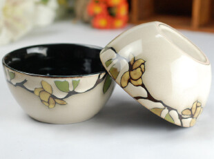 日韩式 晶釉 创意 套装 陶瓷  外贸原单 套装  元宝碗 Y01,碗盆,