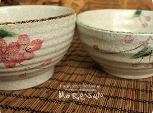 雪浸,梅与小果子。大只 手绘 陶瓷碗 饭碗 汤碗 面碗,碗盆,