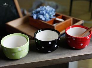 INCAFE |水玉小布丁碗 布丁 碗 烘焙 小花盆 可爱冰激凌碗 模具,碗盆,