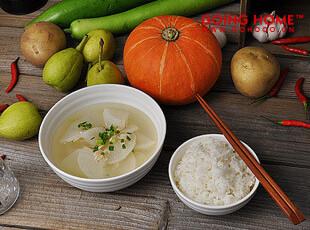 白色波纹陶瓷 碗 面碗 小汤碗 饭碗,碗盆,